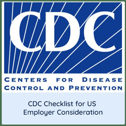 CDC checklist