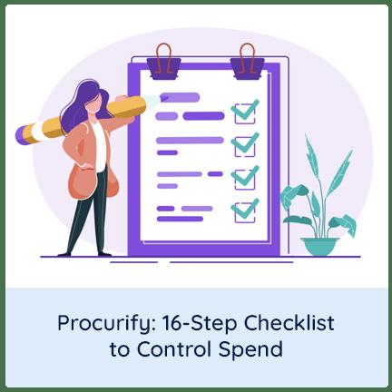 procurify checklist