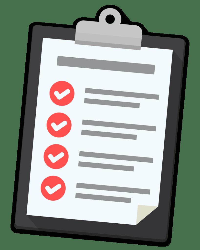 ultimate purchasing checklist una