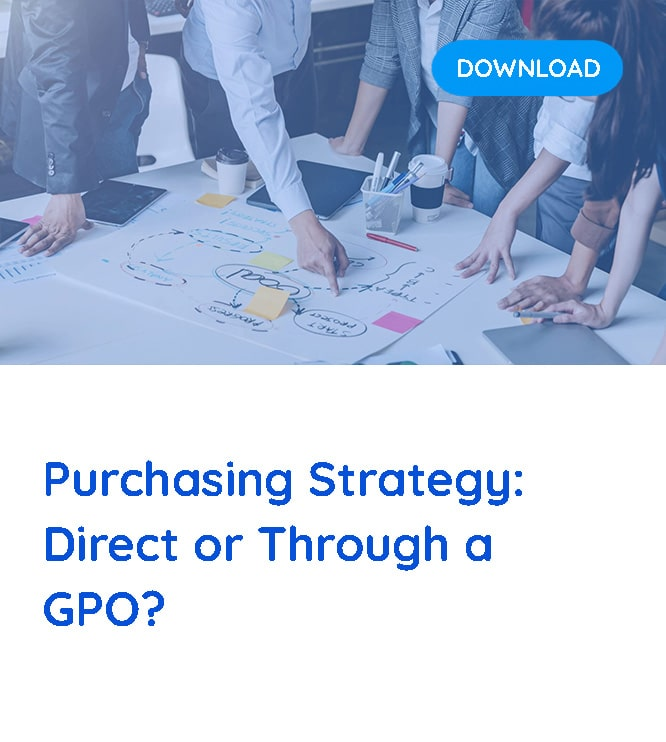 purchasing strategy direct or through a gpo