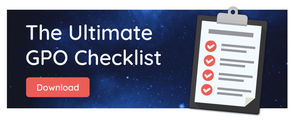 Ultimate GPO Checklist