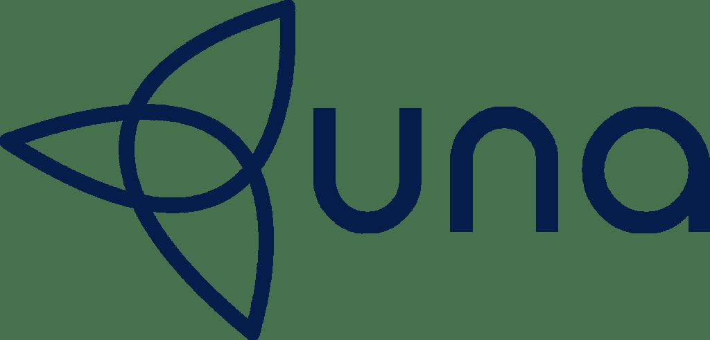una logo no background
