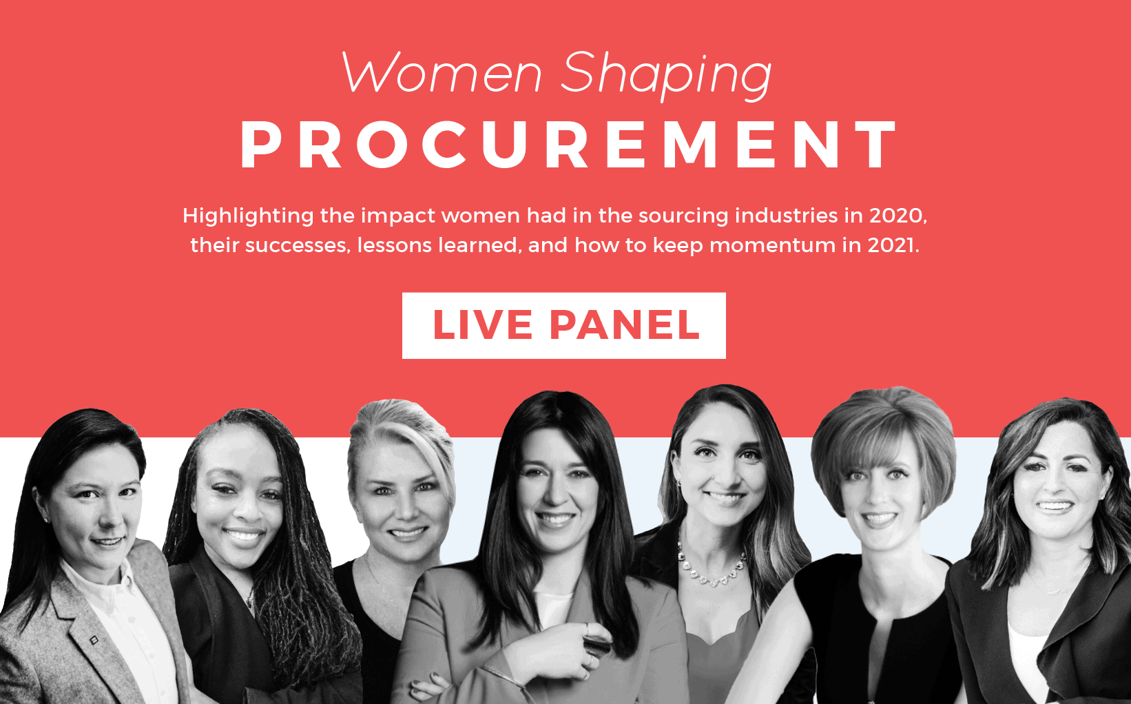 Women Shaping Procurement Live Series